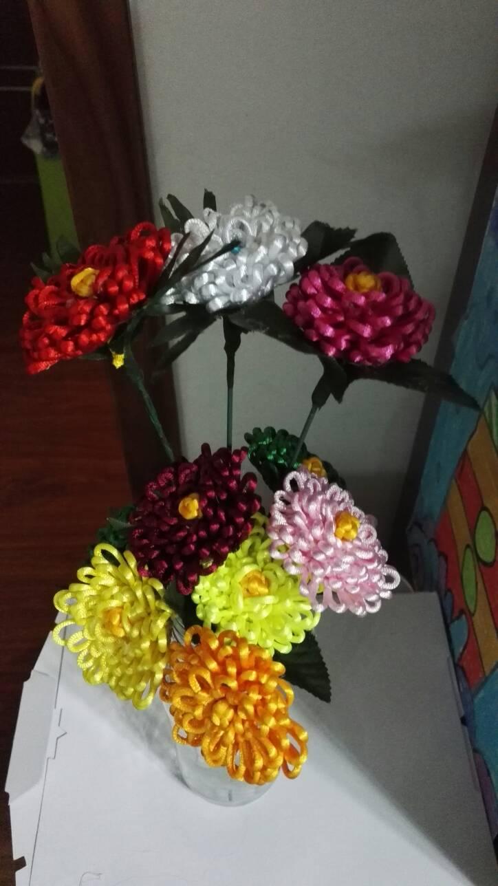 玫瑰花-编法图解-作品展示-中国结论坛