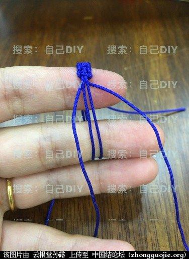"""中国结论坛 超级简单易学的DIY""""平结线环"""",适用于各种情况的装饰配色哦!  图文教程区 233043v8z8o3639mmflkmv"""
