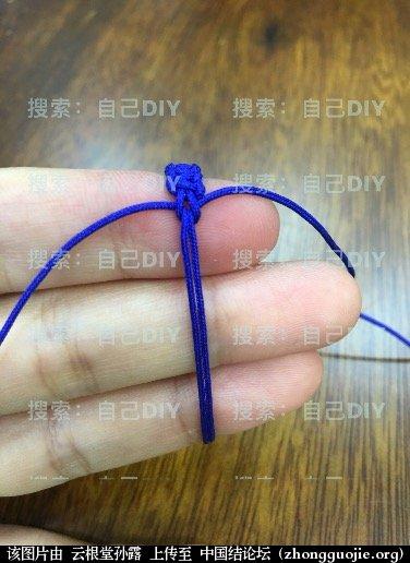 """中国结论坛 超级简单易学的DIY""""平结线环"""",适用于各种情况的装饰配色哦!  图文教程区 233051rtwkjbd2wmgevnh8"""