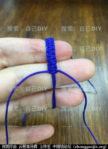 """中国结论坛 超级简单易学的DIY""""平结线环"""",适用于各种情况的装饰配色哦!  图文教程区 233116j2gz7k9gwml9w9l7"""