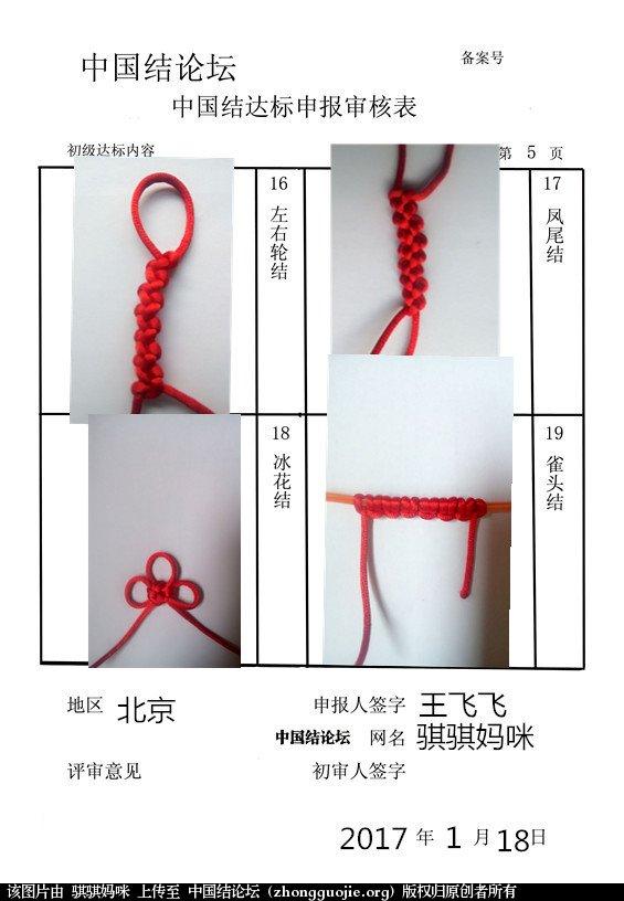 中国结论坛 骐骐妈咪+初级达标申请稿件  中国绳结艺术分级达标审核 101328c1tgl9gpb991ngst