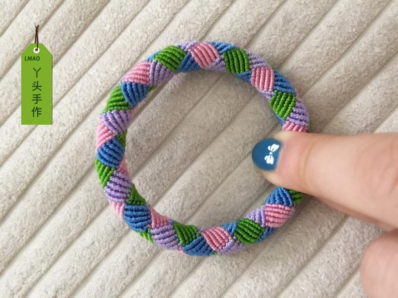 中国结论坛 6股线编彩色手绳  作品展示 160849eu2m7vmjfuttfu0j
