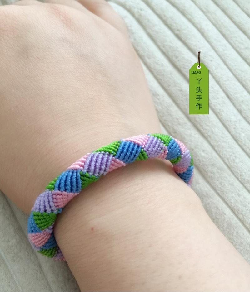 中国结论坛 6股线编彩色手绳  作品展示 160850wz9111kw9urz3k82