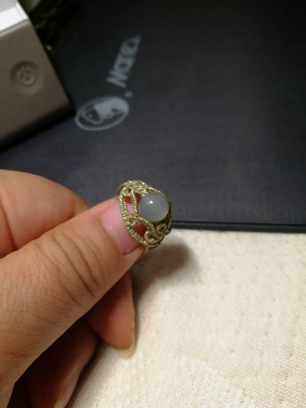 中国结论坛 今天按感觉走的一个金丝线戒指,还是二表姐家的金丝线  作品展示 000045kzduqcq5hnsk6z51