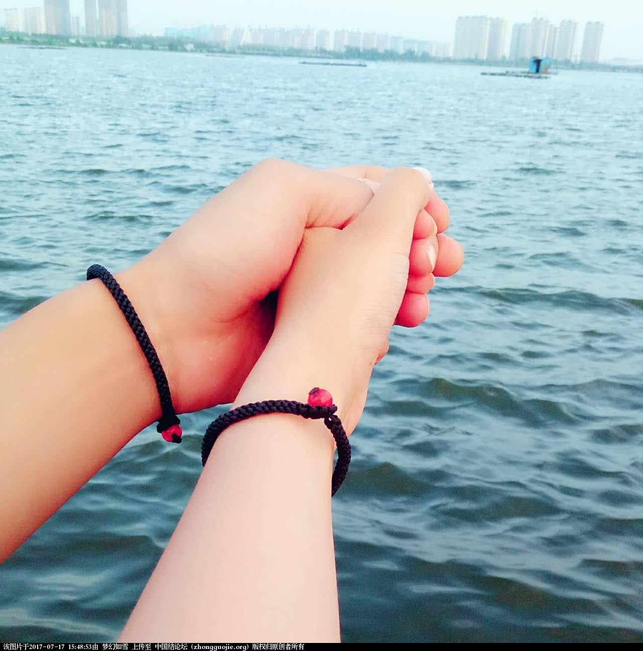 中国结论坛 情侣手链  结艺互助区 154619a58t4occhnohcug7