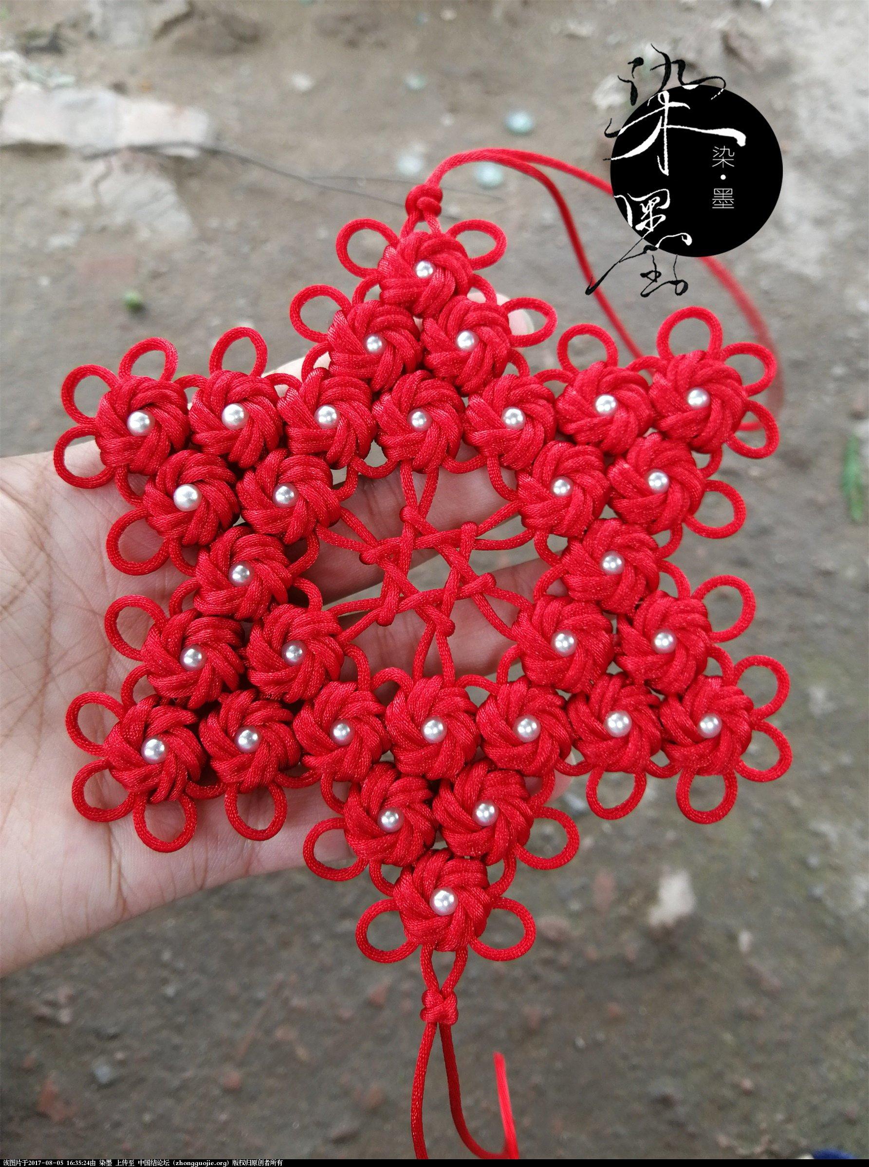 中国结论坛 吉星双耀—团锦冰花镂空六芒星  作品展示 163255zrreeerr88reur8e