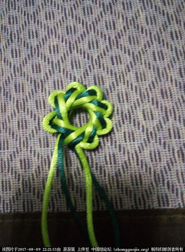 中国结论坛 做八耳套色团锦结的套色小诀窍  图文教程区 221412p38m0s032rmm0208