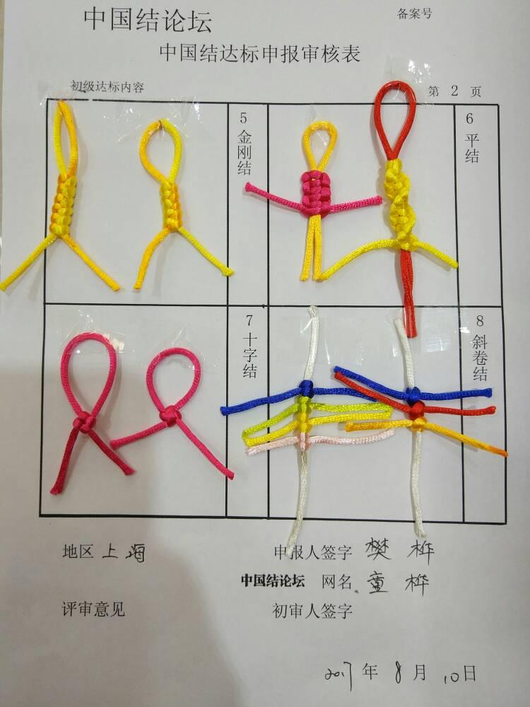 中国结论坛 童桦  初级达标申请稿件  中国绳结艺术分级达标审核 190008pr2mjc8aojgogp8c