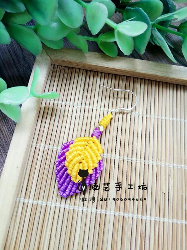 中国结论坛 耳坠  作品展示 103514maogeoj9z36s6eza