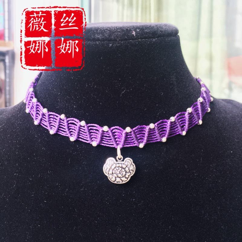 中国结论坛 仿的蕾丝感颈链  作品展示 105044a8586oo2865o2e5s