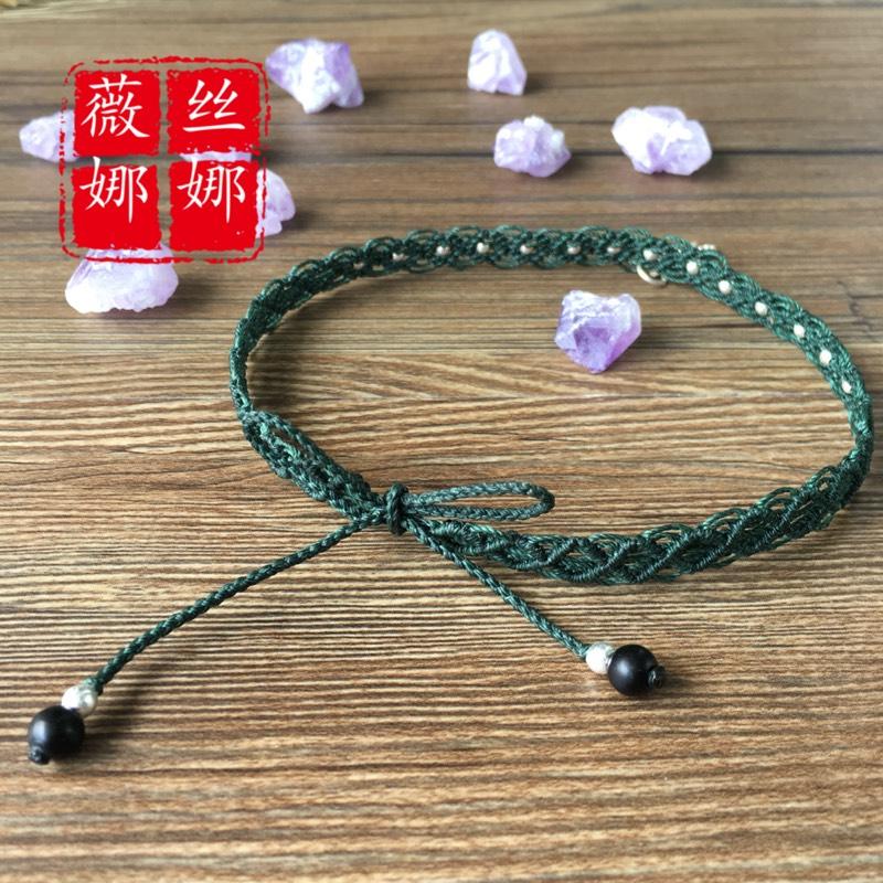 中国结论坛 仿的蕾丝感颈链  作品展示 105044q45995k3dccc955c