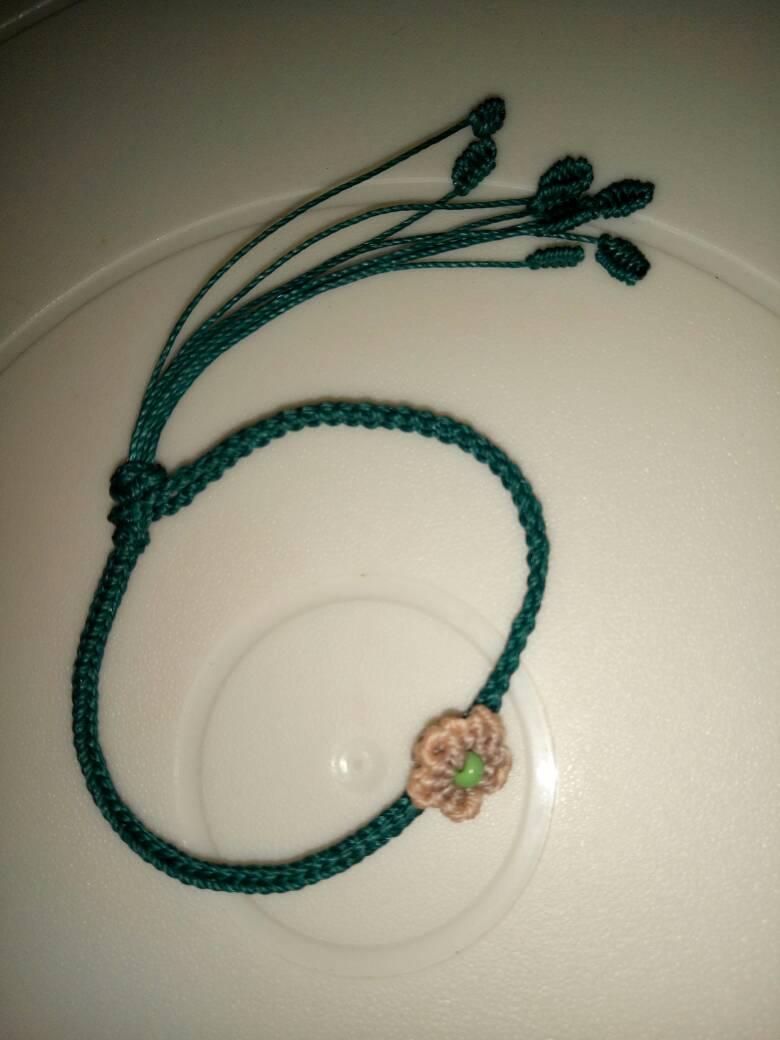 中国结论坛 仿的桃花手绳,当做送给自己的七夕礼物吧  作品展示 230440ldkubiad2lgmjdg2