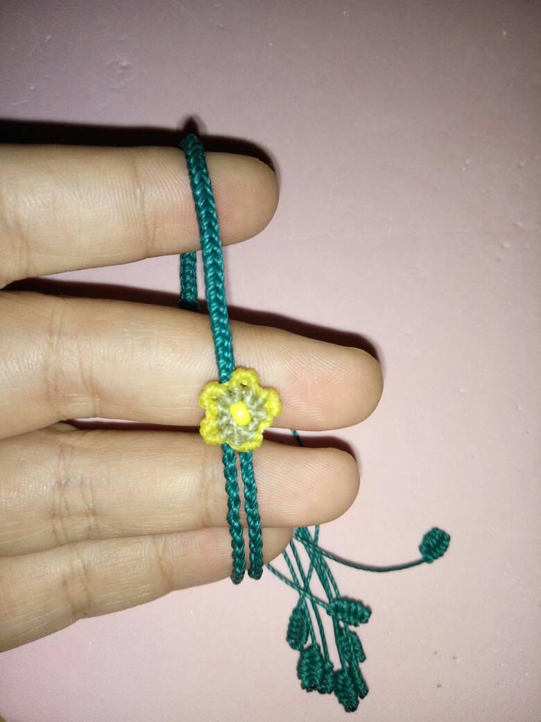 中国结论坛 仿的桃花手绳,当做送给自己的七夕礼物吧  作品展示 230440qu79et2076rxxq0t
