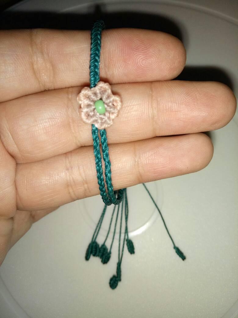 中国结论坛 仿的桃花手绳,当做送给自己的七夕礼物吧  作品展示 230441v2rtq2b22jrlr2yt