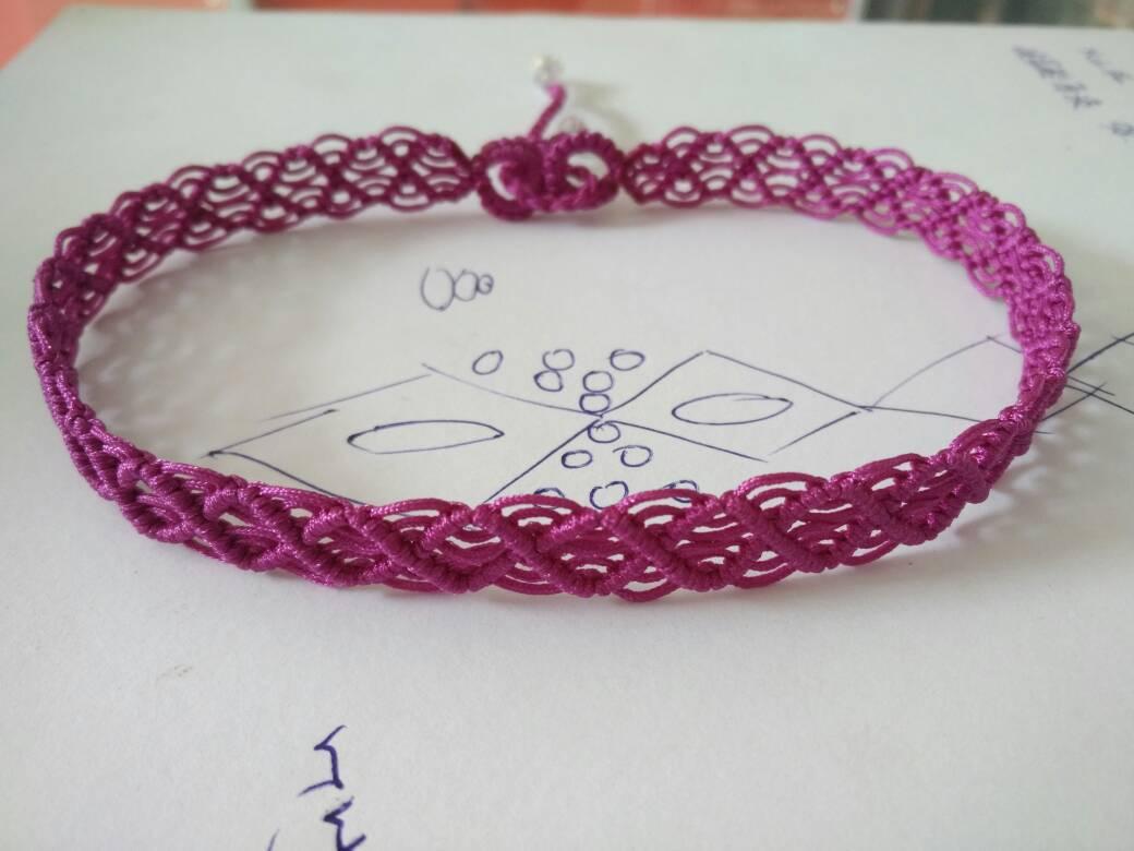 中国结论坛 一款简单的蕾丝感宽项绳――随手拍尾扣教程  作品展示 130437bvobci7782zho6ii