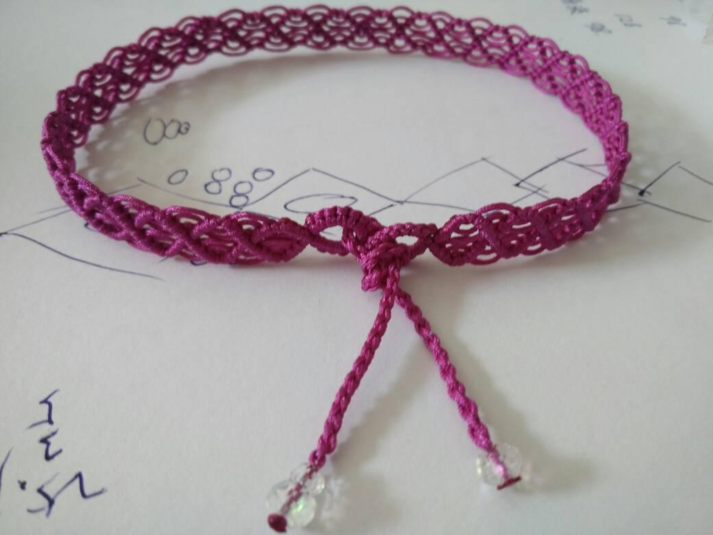 中国结论坛 一款简单的蕾丝感宽项绳――随手拍尾扣教程  作品展示 130438k6z6plctnw7jqj7q