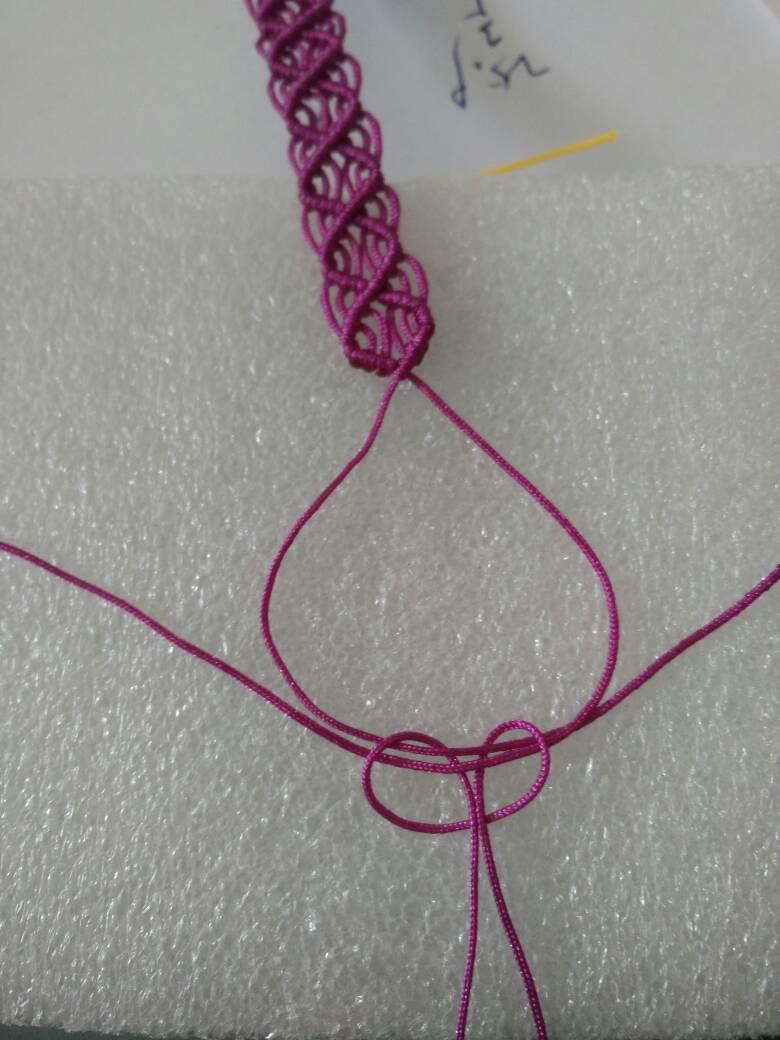 中国结论坛 一款简单的蕾丝感宽项绳――随手拍尾扣教程  作品展示 130441gjoegkzax0cgrjc7