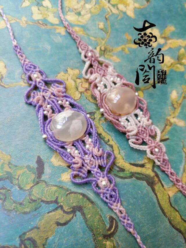 中国结论坛 浪漫樱花复杂款手链  作品展示 131943gn5n4b1cxdna544n