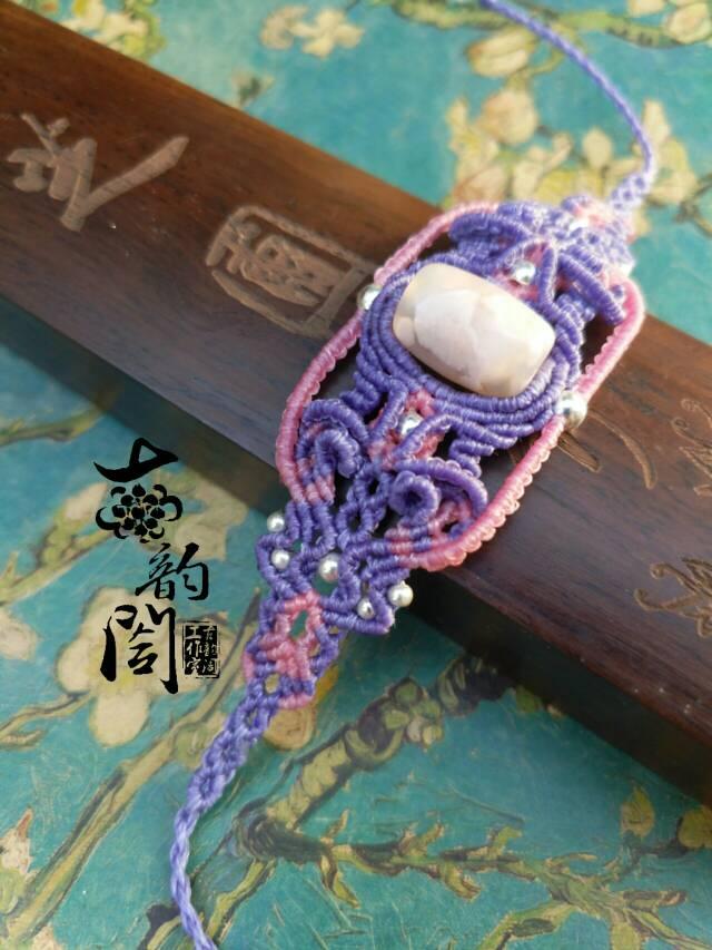 中国结论坛 浪漫樱花复杂款手链  作品展示 131945rh6sscmxhazezoso