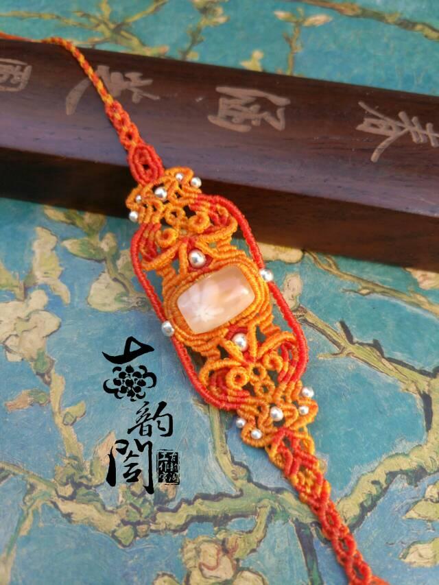 中国结论坛 浪漫樱花复杂款手链  作品展示 131946x9z99mnzhkfthhkm