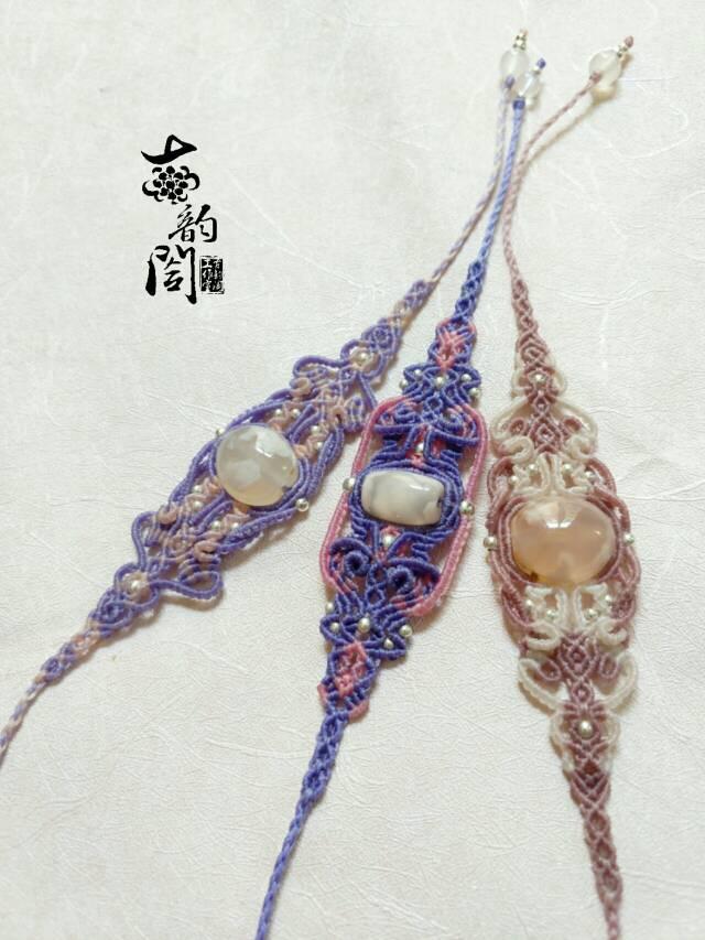 中国结论坛 浪漫樱花复杂款手链  作品展示 131948ndd4qq6pgytakkaz
