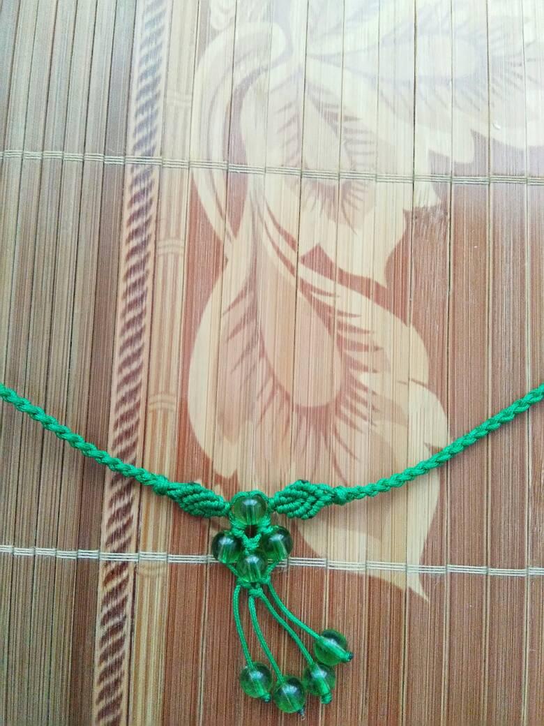 中国结论坛 新创作:叶子脚链  作品展示 160138bnzc2c8e2cu6ssng