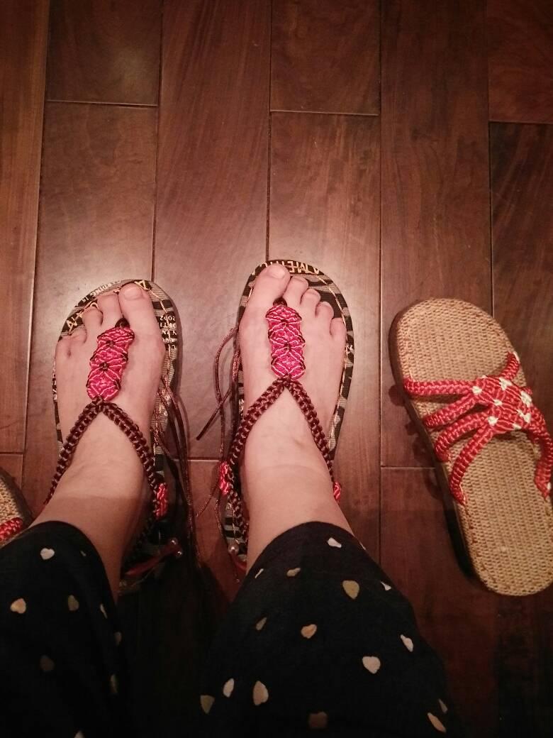 中国结论坛 鞋,之前买的软管找不到了,呜呜~~  作品展示 192457n8ag1cm1o16czm1l