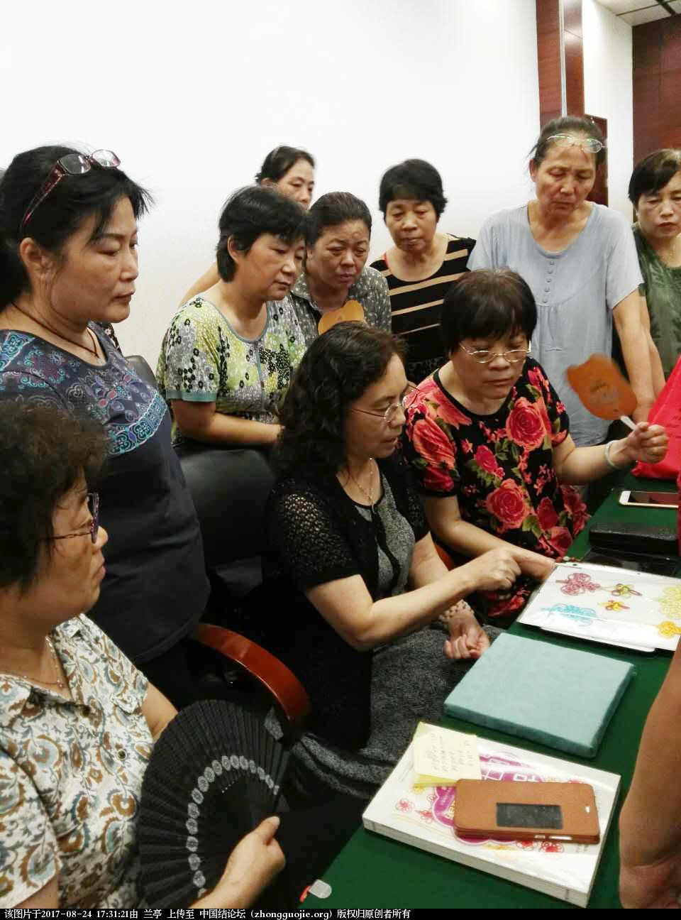 中国结论坛 美丽的星期二---记杭州结艺沙龙活动  结艺网各地联谊会 172516yuy8sxxtxa96o886
