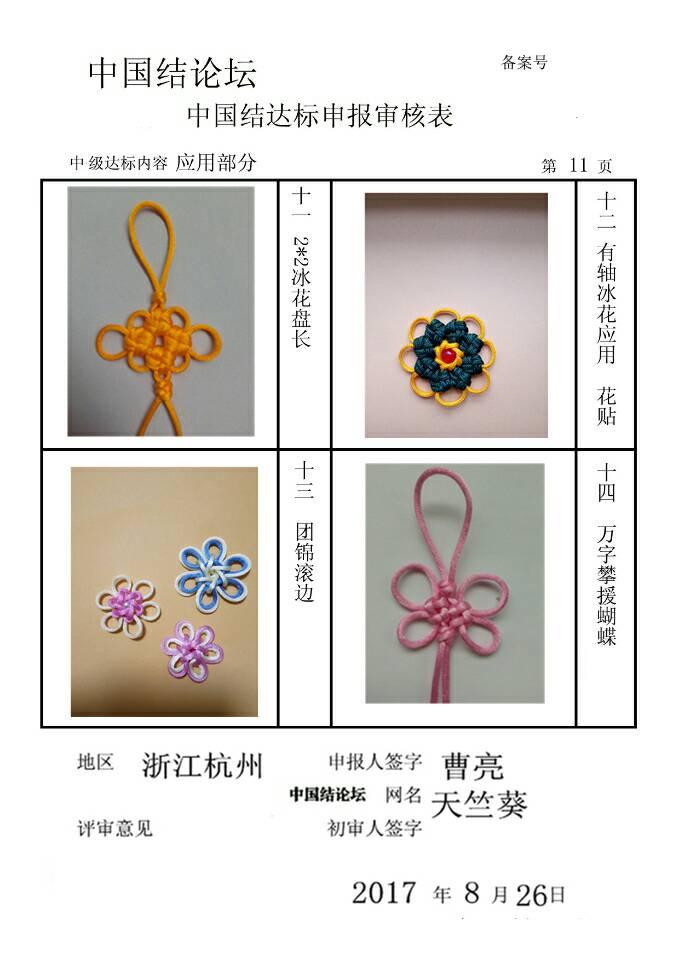 中国结论坛 天竺葵的中级达标审核  中国绳结艺术分级达标审核 120903h0zesebs3nfsyife