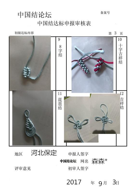 中国结论坛 森森*   初级达标考核  中国绳结艺术分级达标审核 185022v7kh19z181ku1ihf