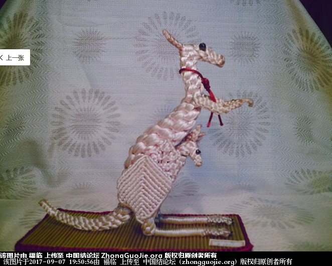 中国结论坛 做中国结已有50年左右,做一个原创的作品集。  作品展示 194920hczh8c55bra5ba6c