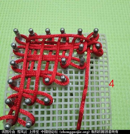 中国结论坛 三角形盘长结  图文教程区 142514xi67kizls6hi6sso