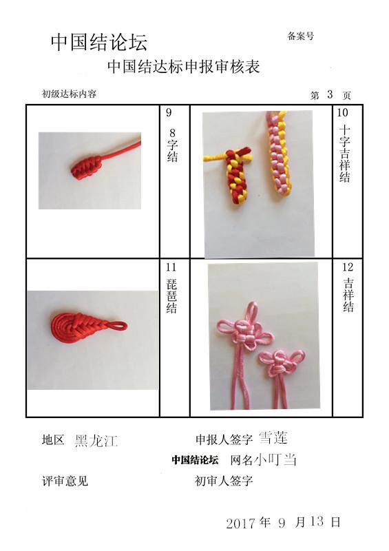 中国结论坛 小叮当初级申请稿  中国绳结艺术分级达标审核 144204pwtj5zmjlk7w14pl