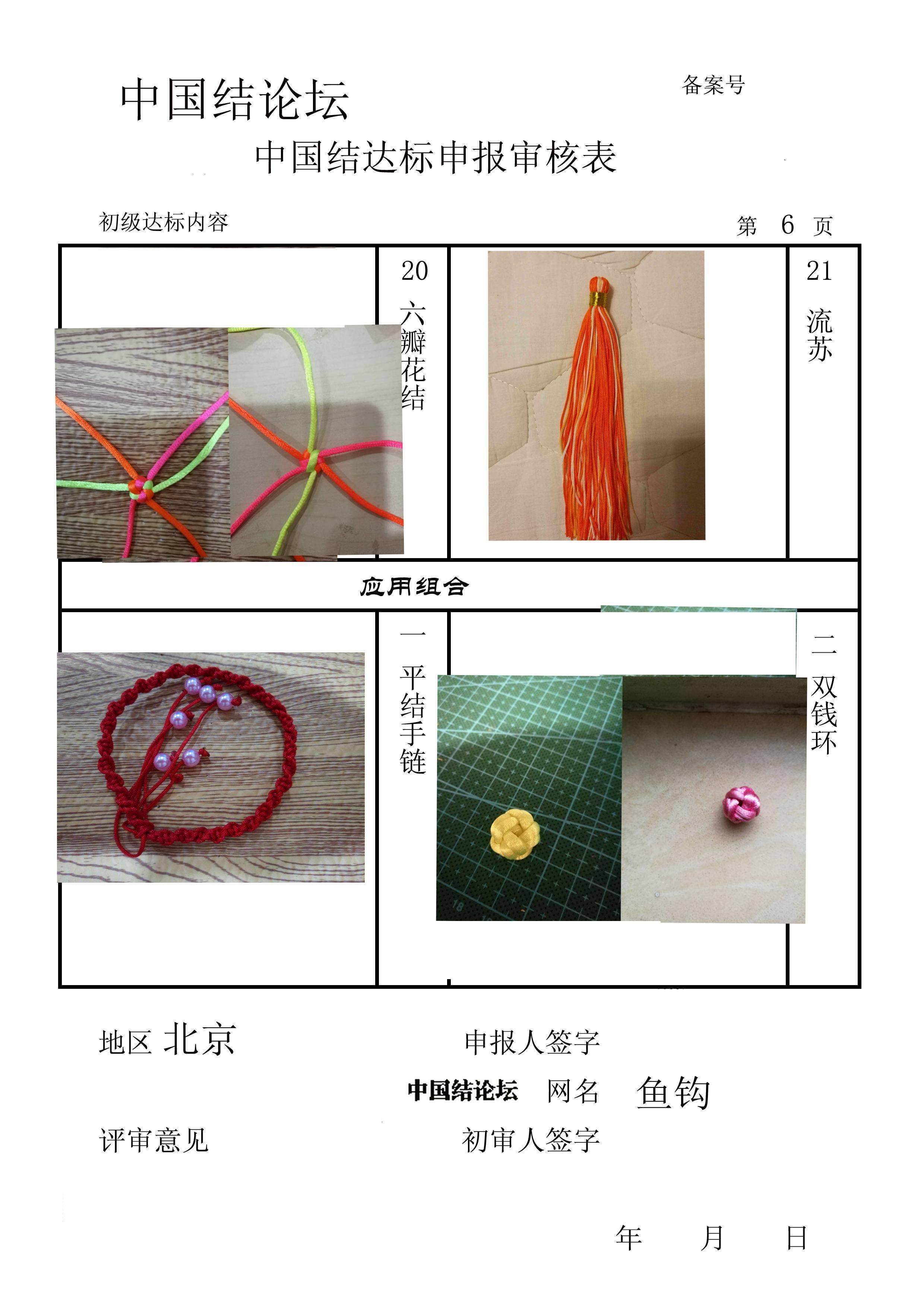 中国结论坛 鱼钩-初级达标申请稿件  中国绳结艺术分级达标审核 153620j2dlaydt87uakay2