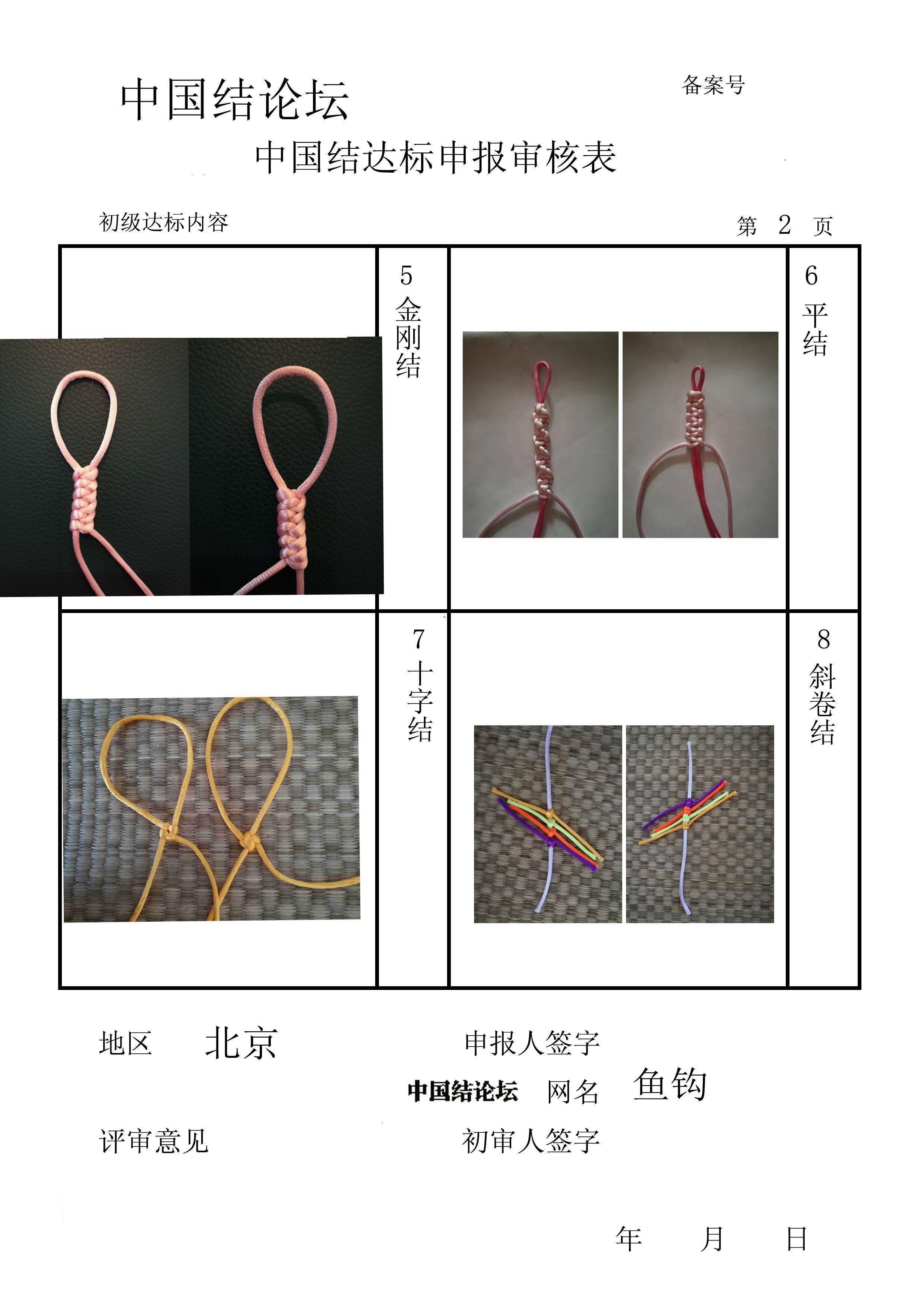 中国结论坛 鱼钩-初级达标申请稿件  中国绳结艺术分级达标审核 162403vnldmrzd0q7kzbnl
