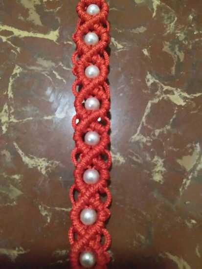 中国结论坛 求助,这种包珠子的编法教程哪里能找到?  结艺互助区