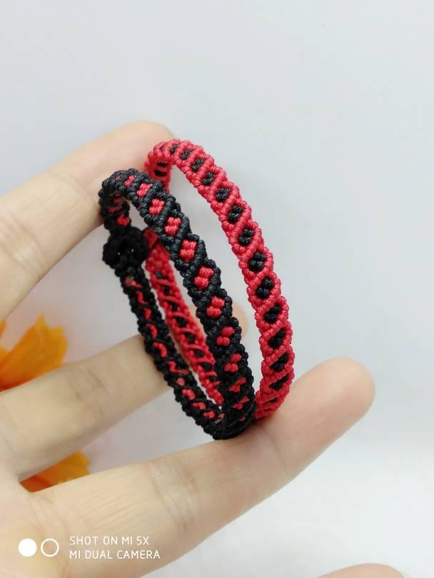 中国结论坛 红绳有约    怀旧   斜卷结手环  作品展示 183416x3wsv6gsahhzza22