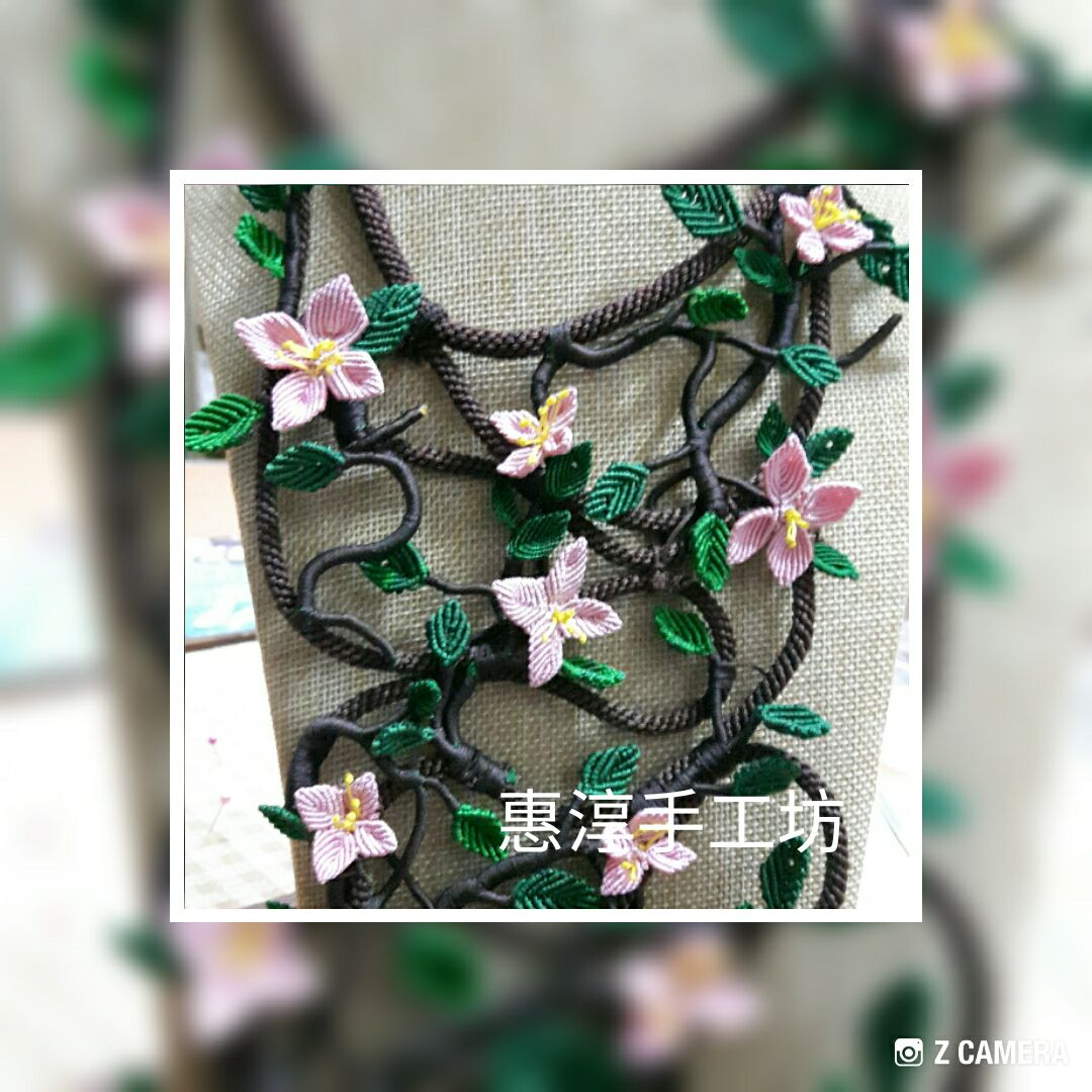 中国结论坛 花團錦簇項鍊  作品展示 093521l7fr9vvf89foo9wf