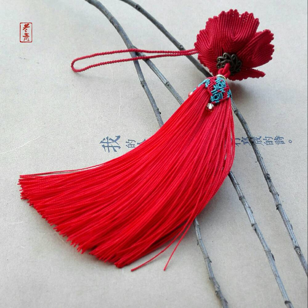 中国结论坛 牡丹花挂件  作品展示 152817lii9nsqhkirun115