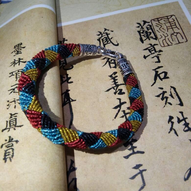 中国结论坛 仿囡绳手作的手绳  作品展示 192611prsysgxgdgf54g9y