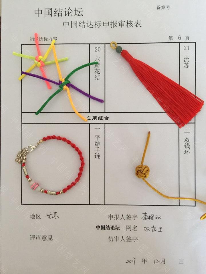 中国结论坛 双女王-初级提交申请  中国绳结艺术分级达标审核 132838dajxpkb61467lpj1