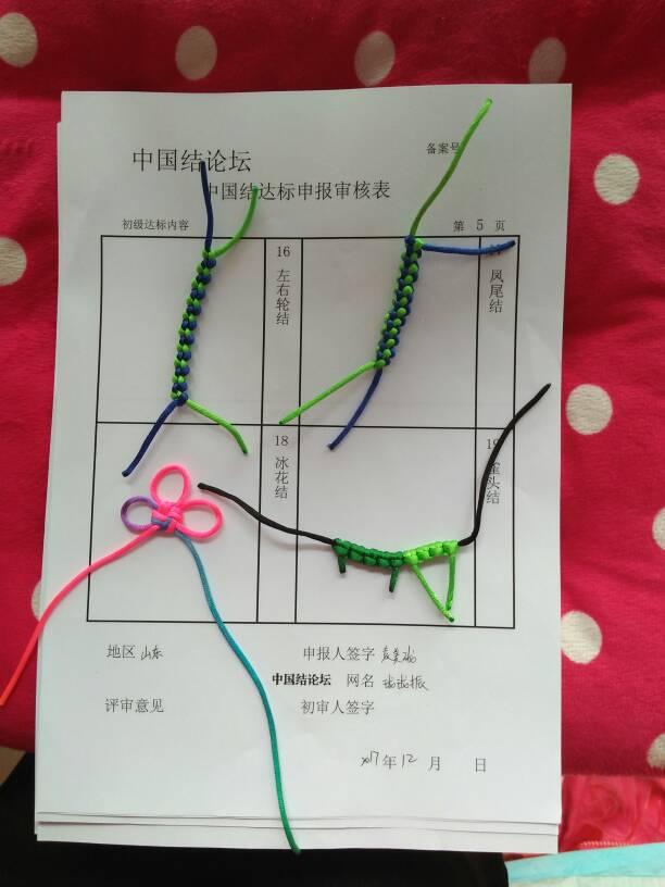 中国结论坛 珑珑振    初级达标申请  中国绳结艺术分级达标审核 133803r6icvzmmceiv3i6o