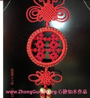 中国结论坛 雀头结的编法图解  基本结-新手入门必看 0903261156455026b7eaa9bf01