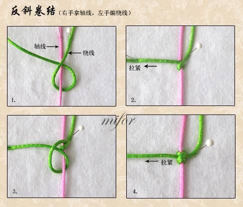 中国结论坛 反斜卷结的编法图解  基本结-新手入门必看 09040509466d6c8002bee03f1c