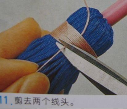 中国结论坛 流苏的编法及编法图解 分级达标 图文教程区 09042823004f0270110c570917
