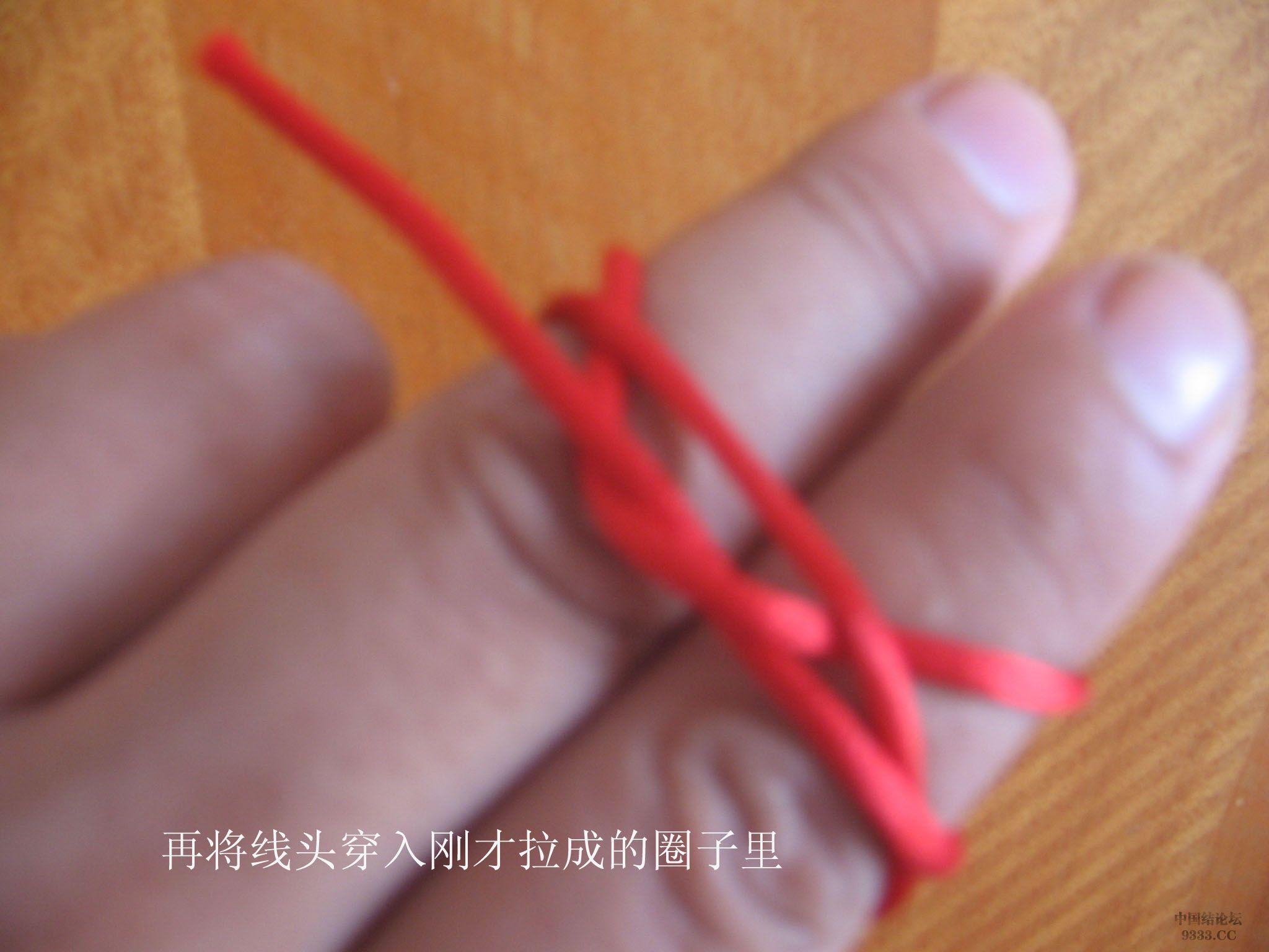 中国结论坛 原创-双钱结的快速编制方法 双钱结 基本结-新手入门必看 0907240955917e27a0ccbb57c1
