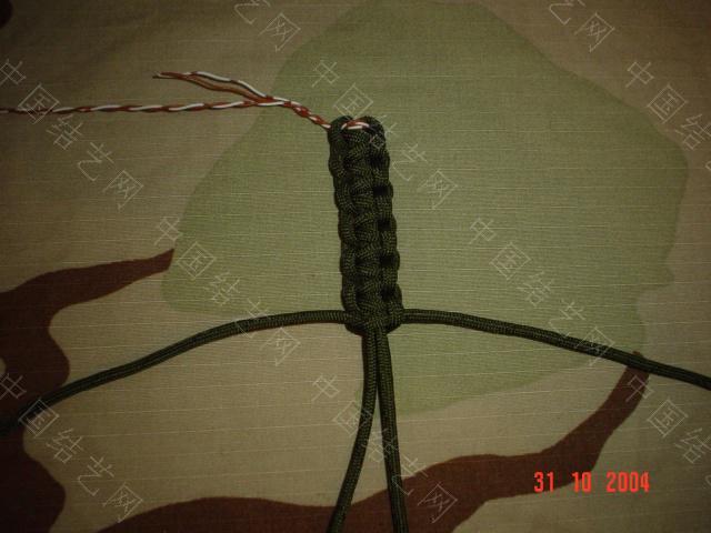 中国结论坛 野外生存绳带做法(平结)  图文教程区 091030202166d01f2738b33619