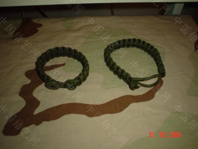 中国结论坛 野外生存绳带做法(平结)  图文教程区 09103020217ac07df77106af09