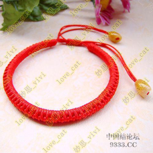 中国结论坛 红绳手链  作品展示 09120813537bdb39283fd354f4