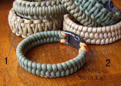 中国结论坛 求这个伞绳 手链的 编法  结艺互助区 091219165865dd2f4059b97b69